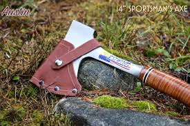 leather axe sheath for estwing camping and sportsman s axe image 0