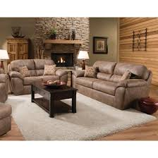 Living Room Sofas And Loveseats Ulyses Living Room Sofa Loveseat Brown 18a Living Room