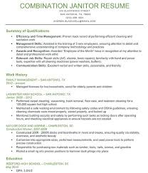 Best Photos Of Sample Janitor Resume Skills Entry Level