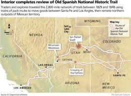 Plan Puts New Attention On Old Spanish Trail The Salt Lake