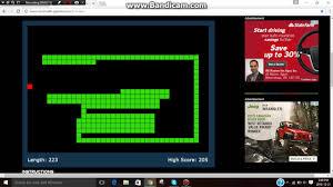 snake gameplay no audio