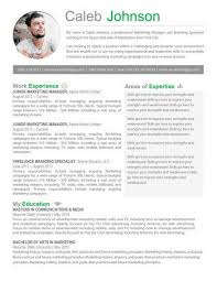 Marketing Resume Template Interesting 28 Perfect Marketing Resume Templates For Every Job Seeker WiseStep
