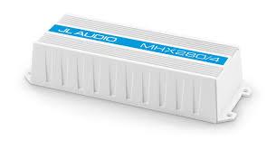 mhx280 4 marine audio amplifiers electronics mhx jl audio mhx280 4 4 ch class d full range marine amplifier 280 w