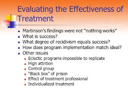 martinson nothing works chapter 6 classification and rehabilitation the development of
