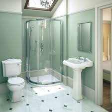 Oxford Traditional En Suite Bathroom Suite Medium Image