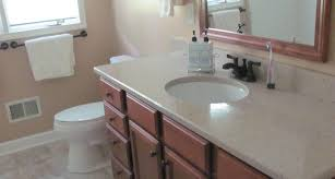 bathroom remodel winston salem nc. Vanity With Stone Countertop, Mirror And Toilet Bathroom Remodel Winston Salem Nc E