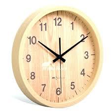 8 inch wall clock 8 wall clock inch wall clock 8 round wood rustic simple silent