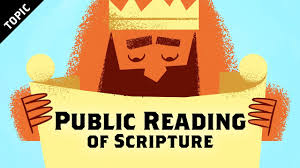 Youth Revival Scriptures Public Reading Of Scripture