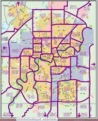 edmonton real estate map Maps Edmonton edmonton zone map maps edmonton alberta canada