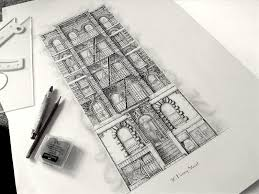architectural drawings. 08-Townhouse-New-York-City-Jamie-Cameron-Intricate- Architectural Drawings L