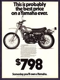 17 best images about vintage mx bikes bobs and racing 1976 yamaha dt 250 dt250 enduro motorcycle photo lowest price ever print