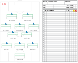 soccer field templates soccer formations and systems as lineup sheet templates brant wojack