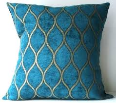 teal and gold pillows. Beautiful Pillows Teal And Gold Pillows Peacock Blue Throw New Inch Designer Handmade  Pillow Case   And Teal Gold Pillows