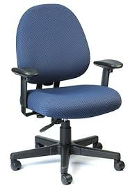 office chair fabric. Eurotech Seating Cypher Series Navy Blue Fabric Office Chair