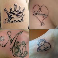 Tatuaggi Nomi Coppia Tatuaggio
