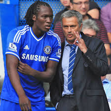 Image result for lukaku and jose mourinho