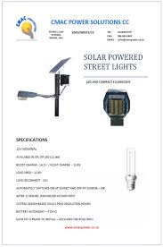 BOS ASIA SDN BHD  Leadsun All In One Solar Street LightSolar Street Light Brochure