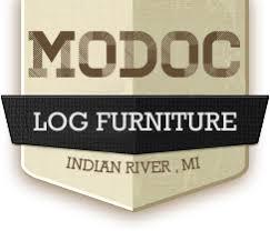 rustic log furniture solid cedar made in michigan