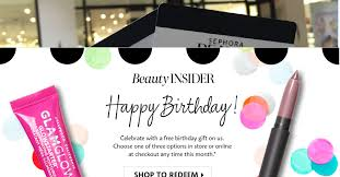 celebrate your birthday with a free sephora mini beauty bundle valid in or