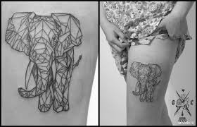 Tattoo Geometry Animals 11 Tatufotocom