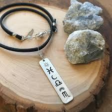 Custom Birth Chart Necklace Custom Astrology Necklace Gemstone Jewelry Bar Necklace Birth Chart Necklace Zodiac Jewelry Celestial Jewelry Suede