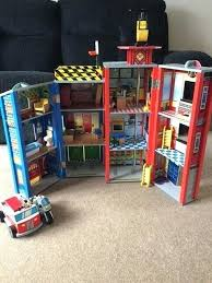 fire station police action set kidkraft deluxe