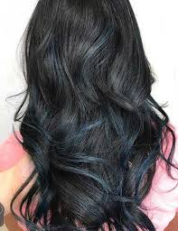 Subtle Blue Highlights 87 Great Blue Black Hair Ideas For You Style Easily