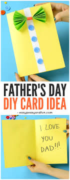 Father's day is all about celebrating the special men in your life. Bow Tie Shirt Father S Day Card Idea Easy Peasy And Fun