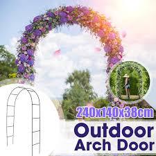 iron wedding arch decorative garden