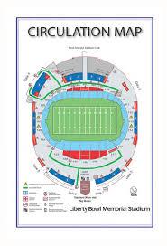 Liberty Bowl Seating Chart Maps Directions The Liberty Bowl Stadium
