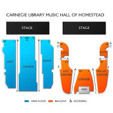 Prototypical Carnegie Library Music Hall Seating Chart