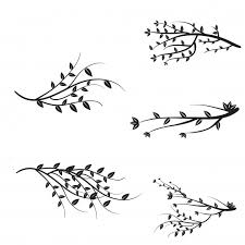 tree branch with leaves vector. vector branches collection tree branch with leaves n