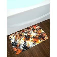 burnt orange bath rugs and brown bathroom rug chocolate