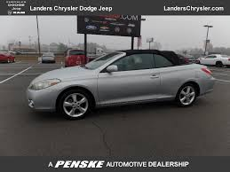 2007 Used Toyota Camry Solara 2dr Convertible V6 Automatic SLE at ...