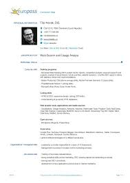 Europass cv => european resume template © download it for free and customize it in word. Modello Cv Europass Vuoto Da Scaricare Page 2 Line 17qq Com