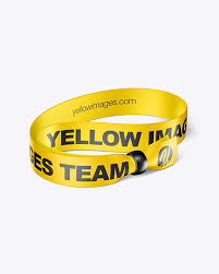 Whether you're a global ad agency or a freelance graphic designer, we have the vector graphics to. Wristband Mockup In Apparel Mockups On Yellow Images Object Mockups