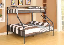 acme gunmetal twin xl over queen metal bunk bed