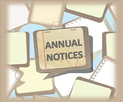 Benefits / Annual Notices