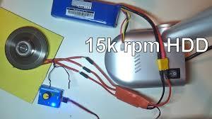 15000rpm hdd motor esc sounds like a jet