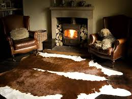 getting wine out of cow hide rugs cow skin rug decor