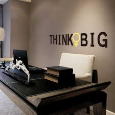 office decorative. Fine Decorative Vinyl Quotes Wall Stickers THINK BIG Removable Decorative Decals For Office  Decor Sticker Decal Mural And Office C
