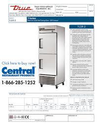 free pdf for true t 23f freezer manual