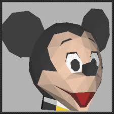 Free Mickey Mouse Template Download Disney Mickey Mouse Head Papercraft Free Template Download