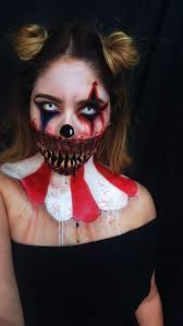 halloween makeup halloween october sf special effects clown makeup evil  clown freak show freakshow american horror story teeth evil sad clown scary  clown fx