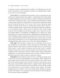 answer the question being asked about multiple intelligence essay redding a b james c and gardner h 2016 nurturing ethical collaboration multiple intelligences papers essays