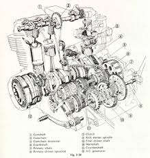 honda cb engine diagram honda wiring diagrams