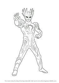 learn how to draw ultraman saga ultraman step by step drawing tutorials