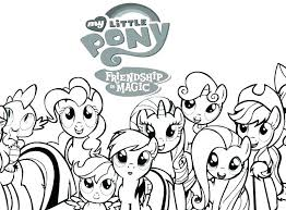My Little Pony Coloring Pages To Print Out Print My Little Pony