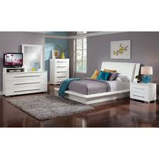 Dimora White Queen Bed | American Signature Furniture | Home Decore ...