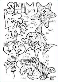 Ocean Animals Color Pages Free Coloring Pages Of Animals In The Ocean Dkaminsky Info